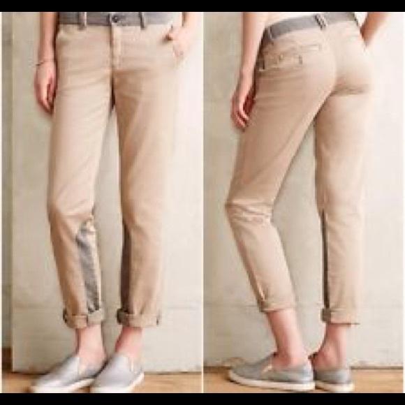 929f911810c Anthropologie Pants - Pilcro   the Letterpress Hyphen Khaki Chino Pants